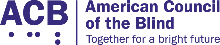 Logo for American Council of the Blind