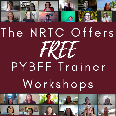 Text: The NRTC Offers Free PYBFF Trainer Workshops