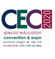 CEC 2020 Logo for Special Education Convention and Expo